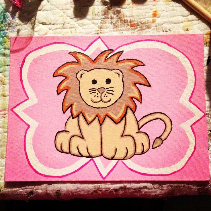 Phi Mu painting