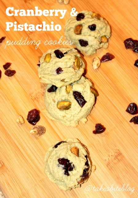 Cranberry Pistachio Pudding Cookies Recipe — Dishmaps