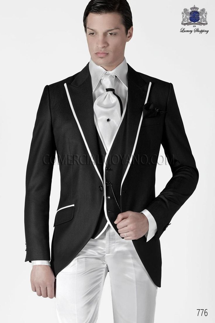 New Design Slim Fit Black Groom Tuxedos Two Button Best Men'S Wedding Dress Prom Clothing Dinner SuitJacket+Pants+Tie+Vest641 Cheap Tuxedos For Sale Colored Tuxedos From Good Happy, $73.3| Dhgate.Com