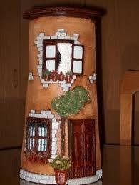 855 best images about tejas decoradas on pinterest roof - Tejas pequenas decoradas ...