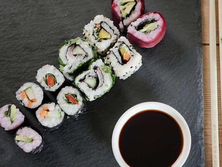 DIY-Anleitung: Vegetarisches Sushi selber machen via DaWanda.com