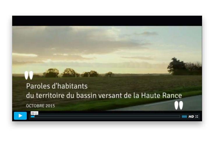 Vidéo recueil de témoignages sur le territoire