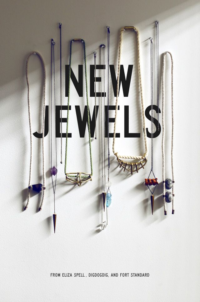 hmmm, maybe I should hang my necklaces on nails instead of using a jewelry stand