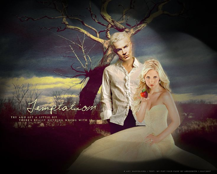Much more appealing than Edward & Bella.  ;-) Spike & Buffy <3