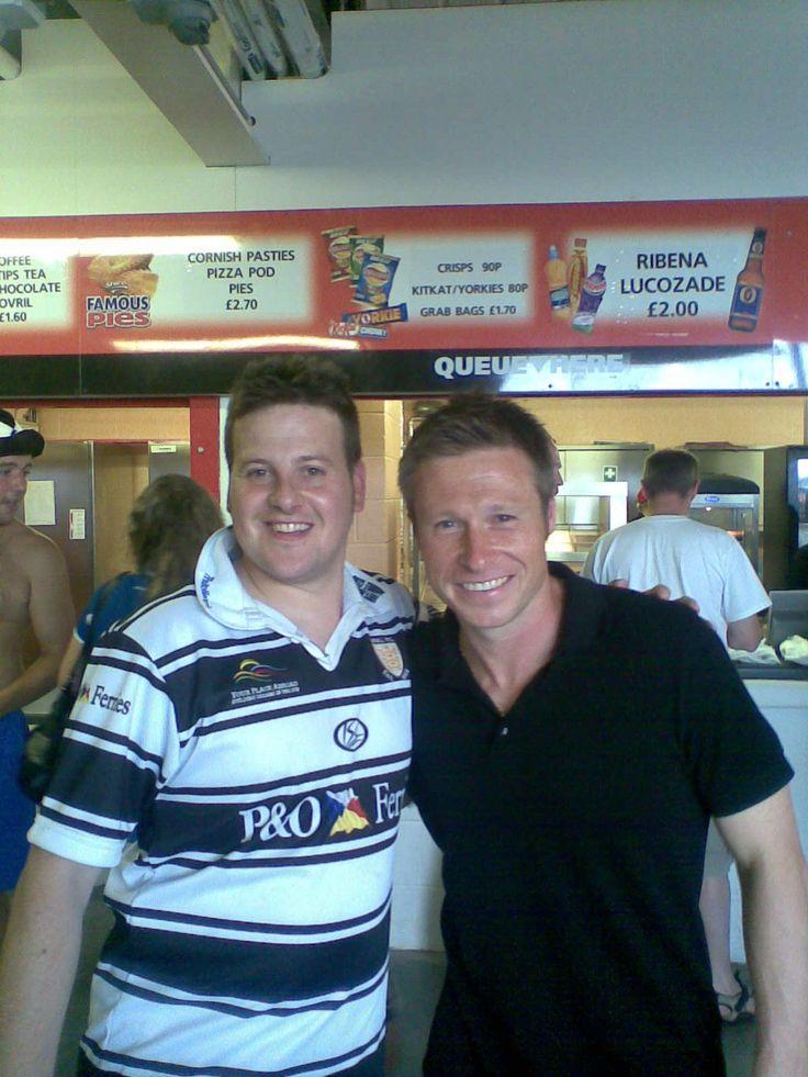 Steve Ellam and Nick Barmby at Doncaster semi final 2008