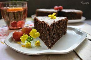 AynaGöz.: Unsuz Çikolatalı- Fasulyeli Kek