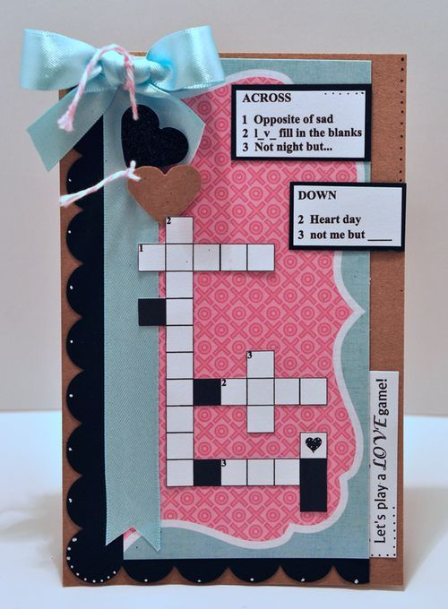 how to play crossword puzzle lottery