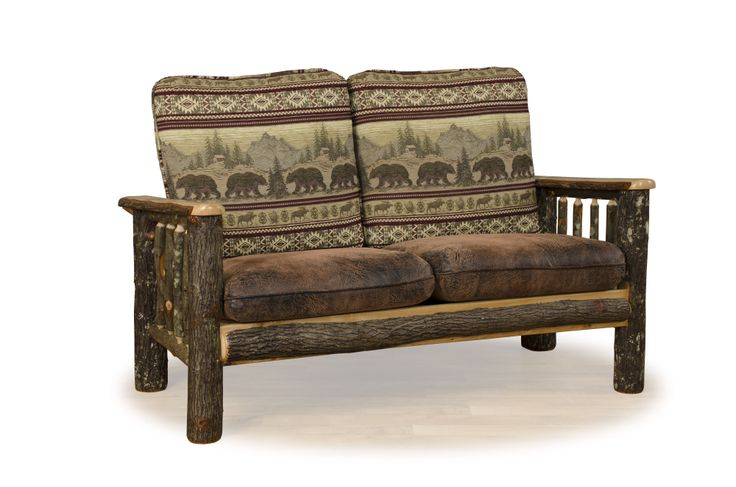 1000 Images About Rustic Hickory Oak Log Furniture On Pinterest Rocking Chairs Country