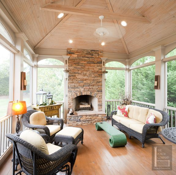 Front Porch Ceiling Ideas: 61 Best Screened Porch Images On Pinterest