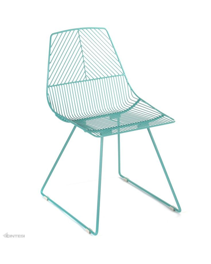 Johnny Wire Chair - Duck Egg | I want cushions, a lampshade and ...