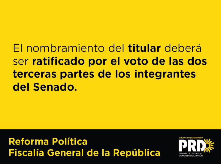 #ReformaPolítica #FGR