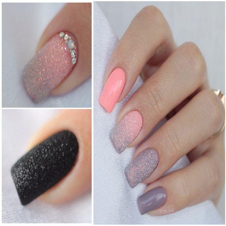 2 g/Box Gula Holographic Glitter Powder Cemerlang Glitter Debu Powder Manicure Nail Art Dekorasi 8 Warna