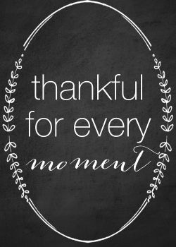Thankful printables can be used all year as decor. Free thankful printables at Reasons To Skip The Housework. #printables