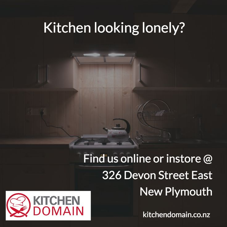 Kitchen feeling lonely? Come see us instore or online