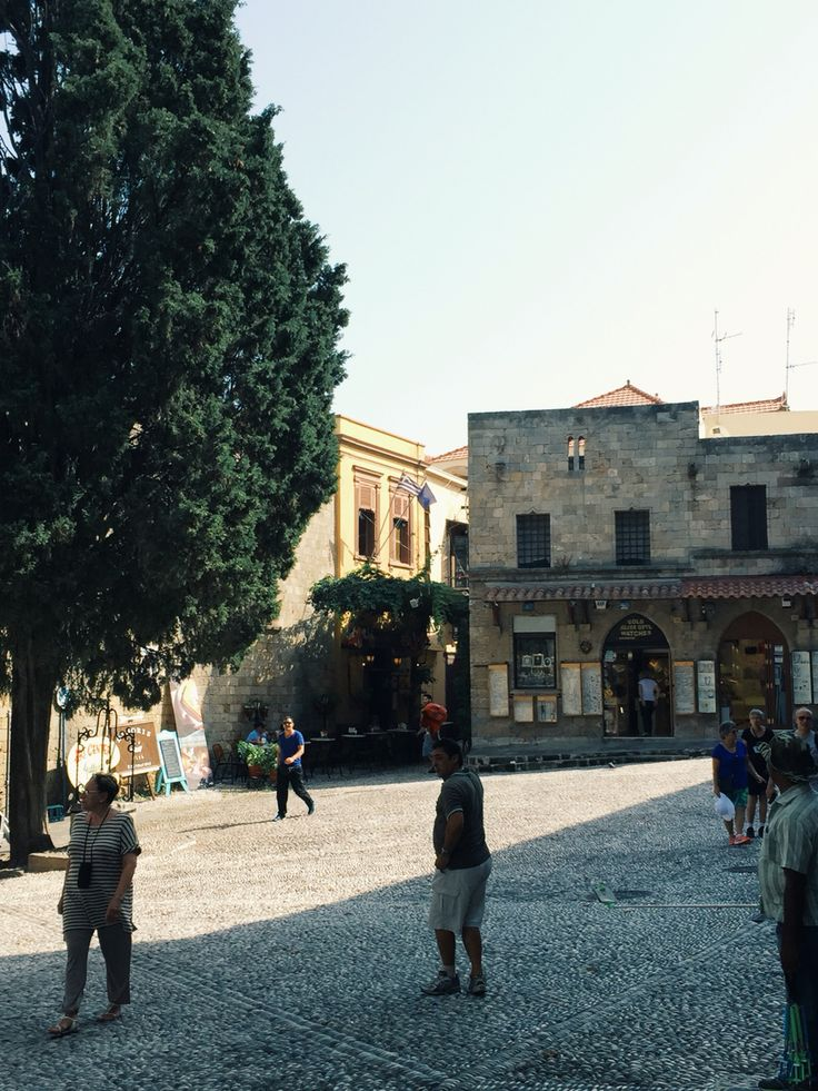 #marketsquare #oldtown #rhodes