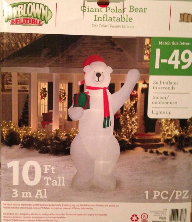 Gemmy snowman chubby inflatable round
