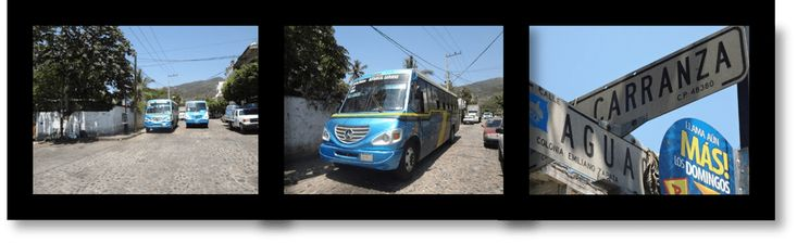 Bus routes and bus fares in Puerto Vallarta