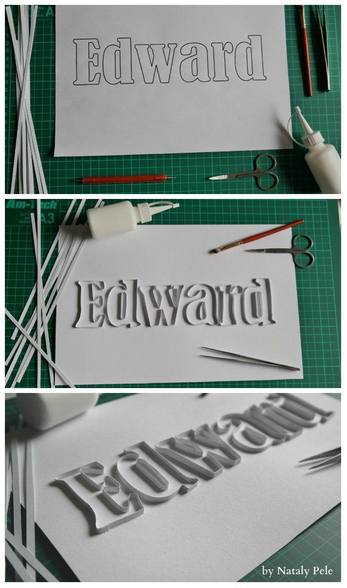 The next name Edward.. work process