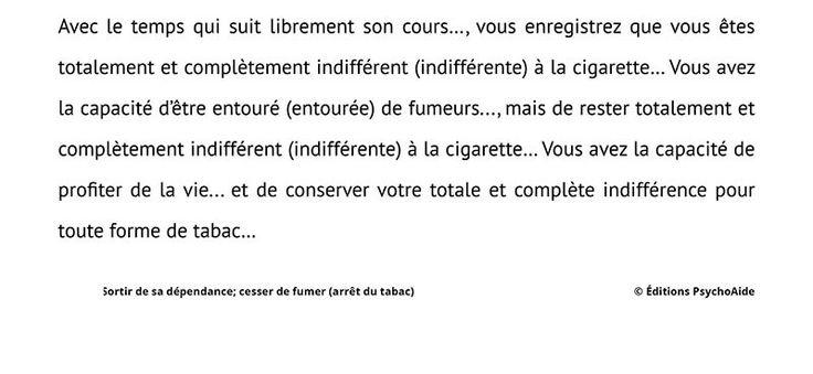 Je demande cessera de fumer beaucoup