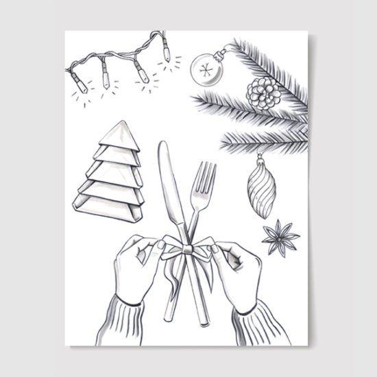 #christmas #illustration