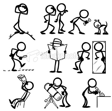 how to draw stick figure people
