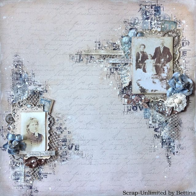 Scrap-Unlimited: Mixed media layout