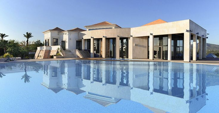 Luxury contemporary villa estate Algarve Portugal. Sea view houses near faro. Quinta property for sale