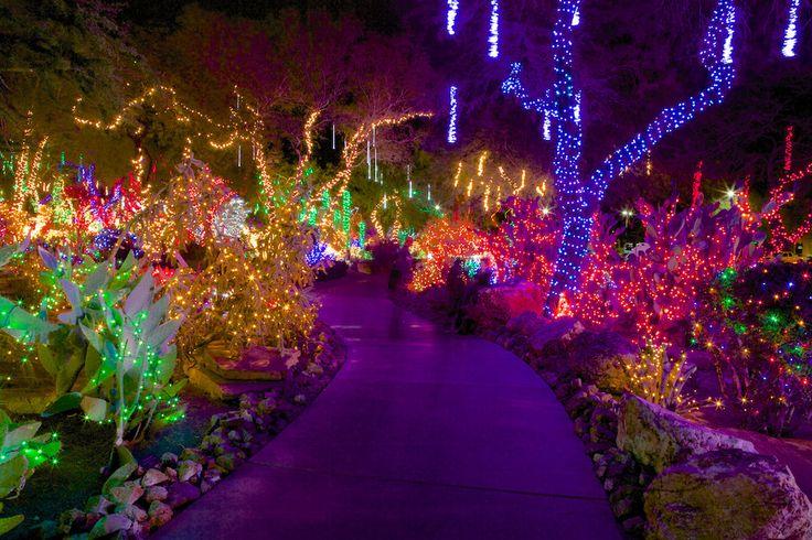 Ethel M Chocolastes Holiday Cactus Garden - Las Vegas NV USA