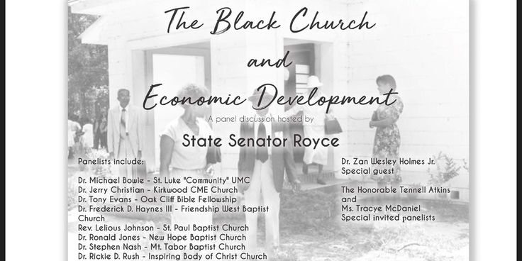 Please join us for the Black Church and Economic Development Community Discussion to take place on Thursday - November 9, 2017 at Paul Quinn College. The purpose of this forum is to explore the historical role of the African American church related toeconomic development and identify community needs and opportunities for future collaborative efforts.