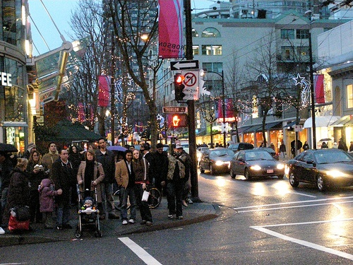 Robson street clothing stores