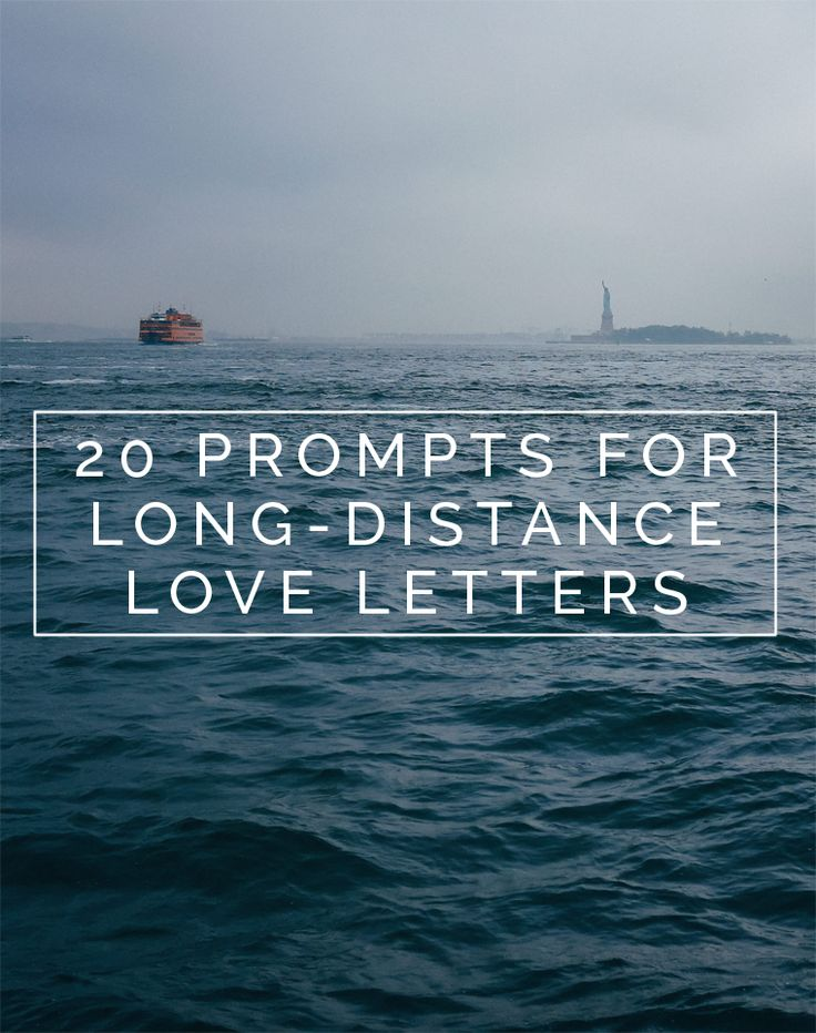 Call Me Sassafras: Long-Distance Love: Prompts for Writing Letters