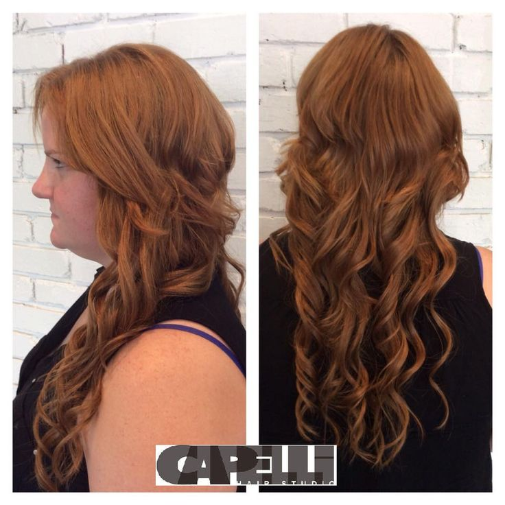 its amazing what a great set of extensions can do! #hairextensions #length