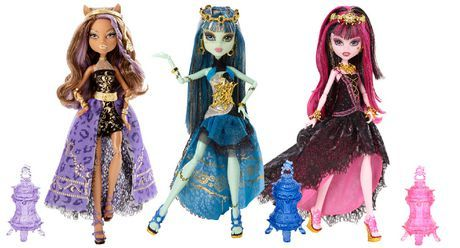 MONSTER HIGH® 13 WISHES™ HAUNT THE CASBAH™ DOLL ASSORTMENT available from Walmart Canada. Buy Toys online at everyday low prices at Walmart.ca
