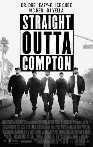 Straight Outta Compton Movie poster Metal Sign Wall Art 8in x 12in
