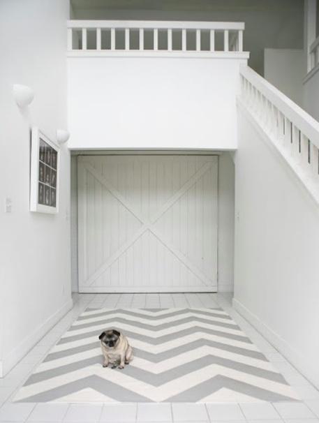 zigzag tapijt om zelf te maken, lees er alles over op de website