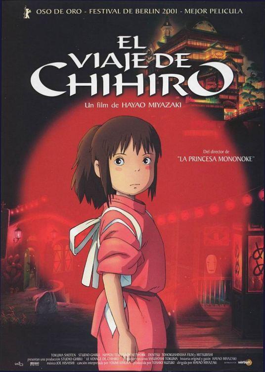 El viaje de Chihiro. Mi película favorita de todos los tiempos...