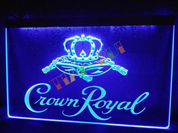 Crown Royal Derby Whiskey Pub Club Neon Light Sign  #Unbranded #NewClassicalPostmodern