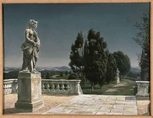 """Melpomene"", 1945 / Carel Willink (1900-1983) / Collection mr. C.J.A. de Ranitz, Driebergen, The Netherlands"