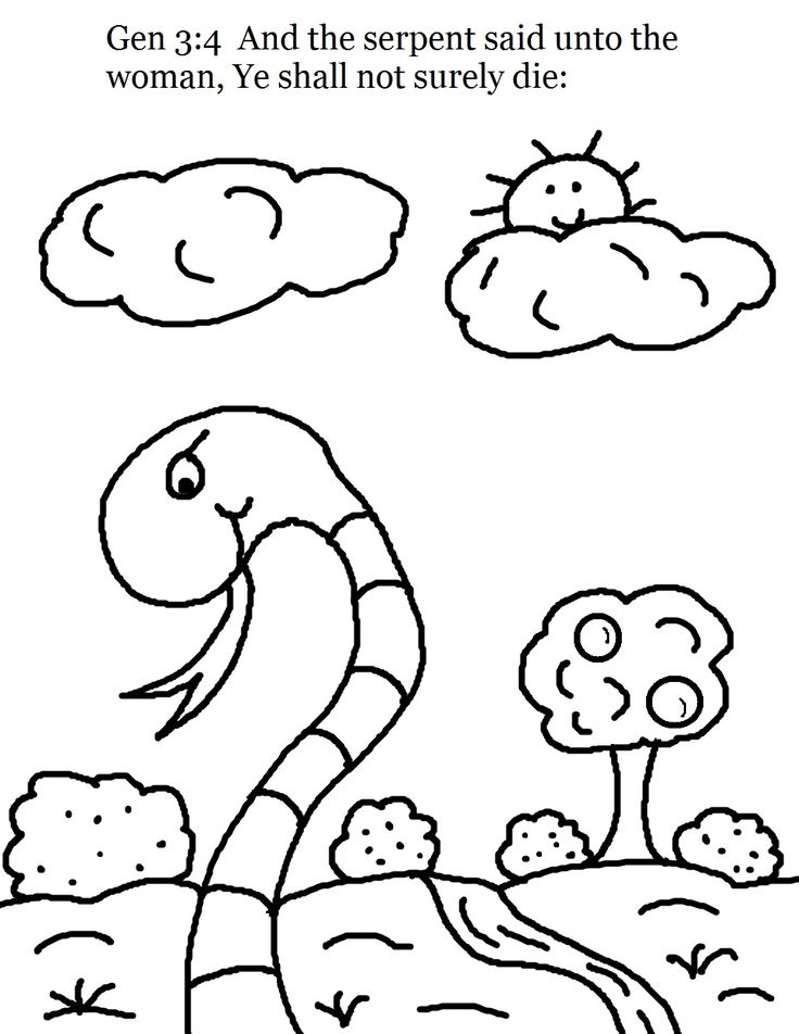 387 best images about bible creation adam eve cain for Adam eve coloring pages