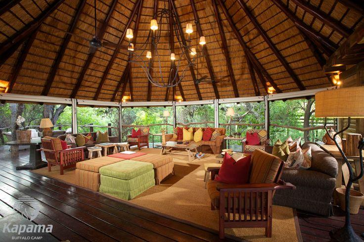 Kapama Buffalo Camp Lounge Area