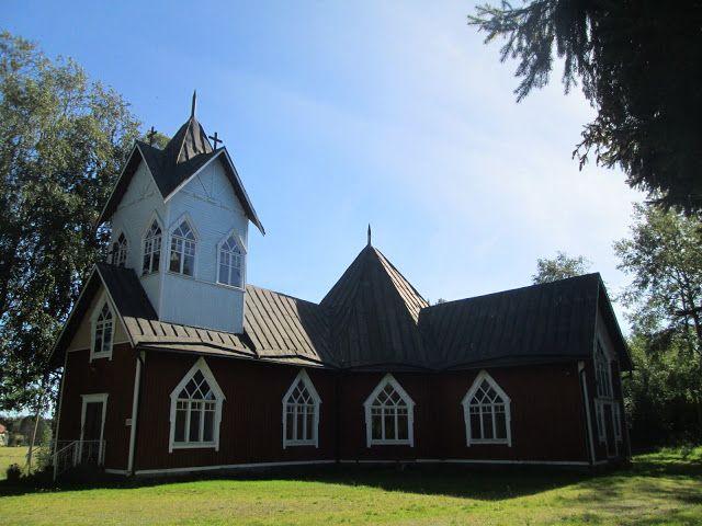 Rangsbyn kirkko. (Kuva:Jari Laurila:2015)