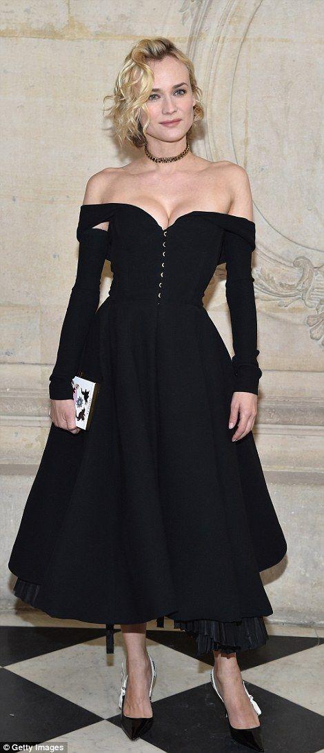 Diane Kruger at Dior couture