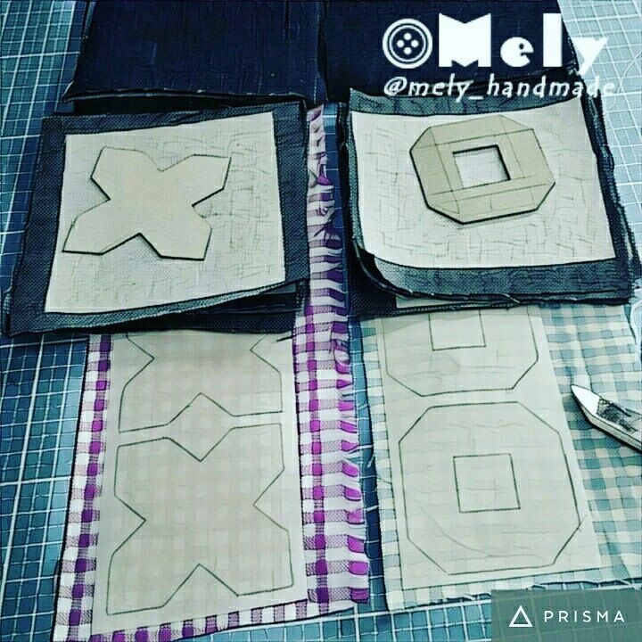 Work in progress💪: denim tic tac toe ❤  #mely_handmade #wip #denim #jeans #colors #tictactoe #workinprogress #fabric #cottonfabric #fabriccolors #sewingmendsthesoul #cuttingtime #sewingcorner #sewingallthethings #sewingmakesmehappy #newproject #sewingmachine #handmade #mondaymorning #instasew #instasewing #etsyupgrate #prismaapp