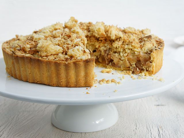 A delicious, fruity and old-style dessert suitable for gatherings and get-togethers. I have made this apple crumble a couple of times and people often ask for the recipe.