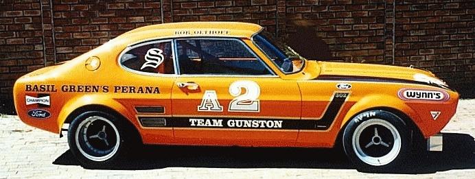 Basil Green Ford Capri Perana Team Gunston Racing
