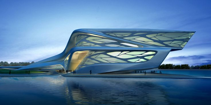 Concept for Abu Dhabi Performing Arts Center, UAE