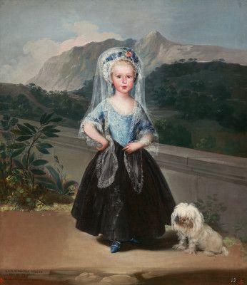 María Teresa de Borbón y Vallabriga, later Condesa de Chinchón   Goya   1783