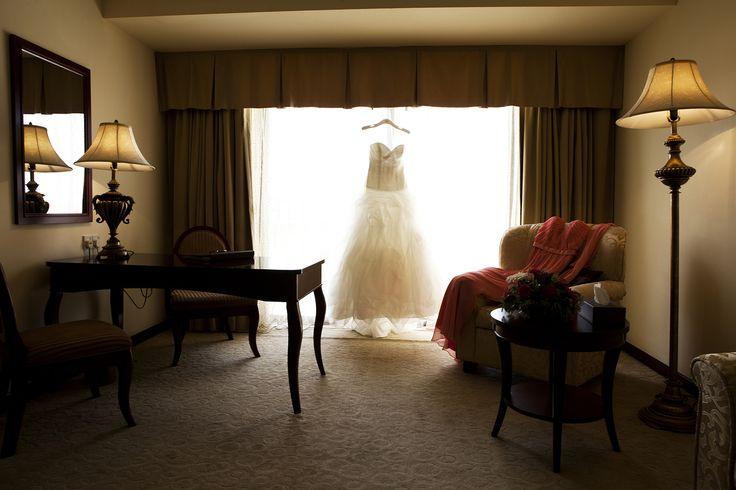 #Bridal #suite & #wedding #dress