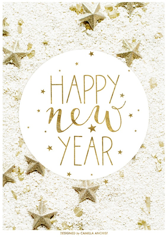 happy new year graphic design by camilla anchisi 1 happy new happy happy new year