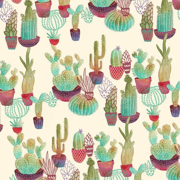 Cactus : would be nice on fabrics